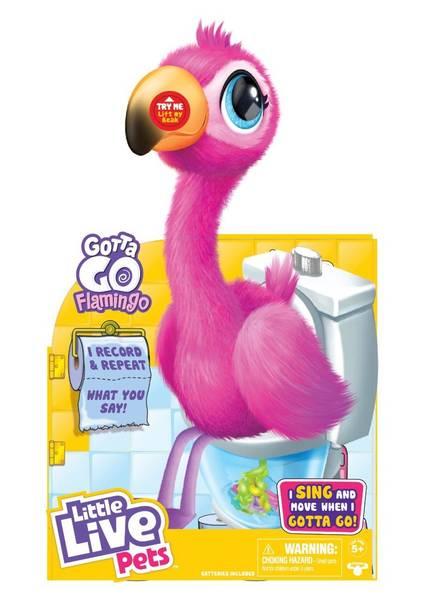 Bilde av LITTLE LIVE – Gotta GO Interaktiv Flamingo