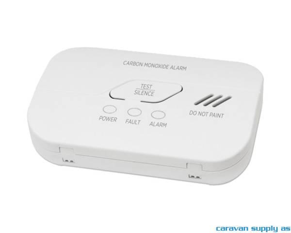 Bilde av Gassalarm Housegard CO-alarm 9V batteri hvit