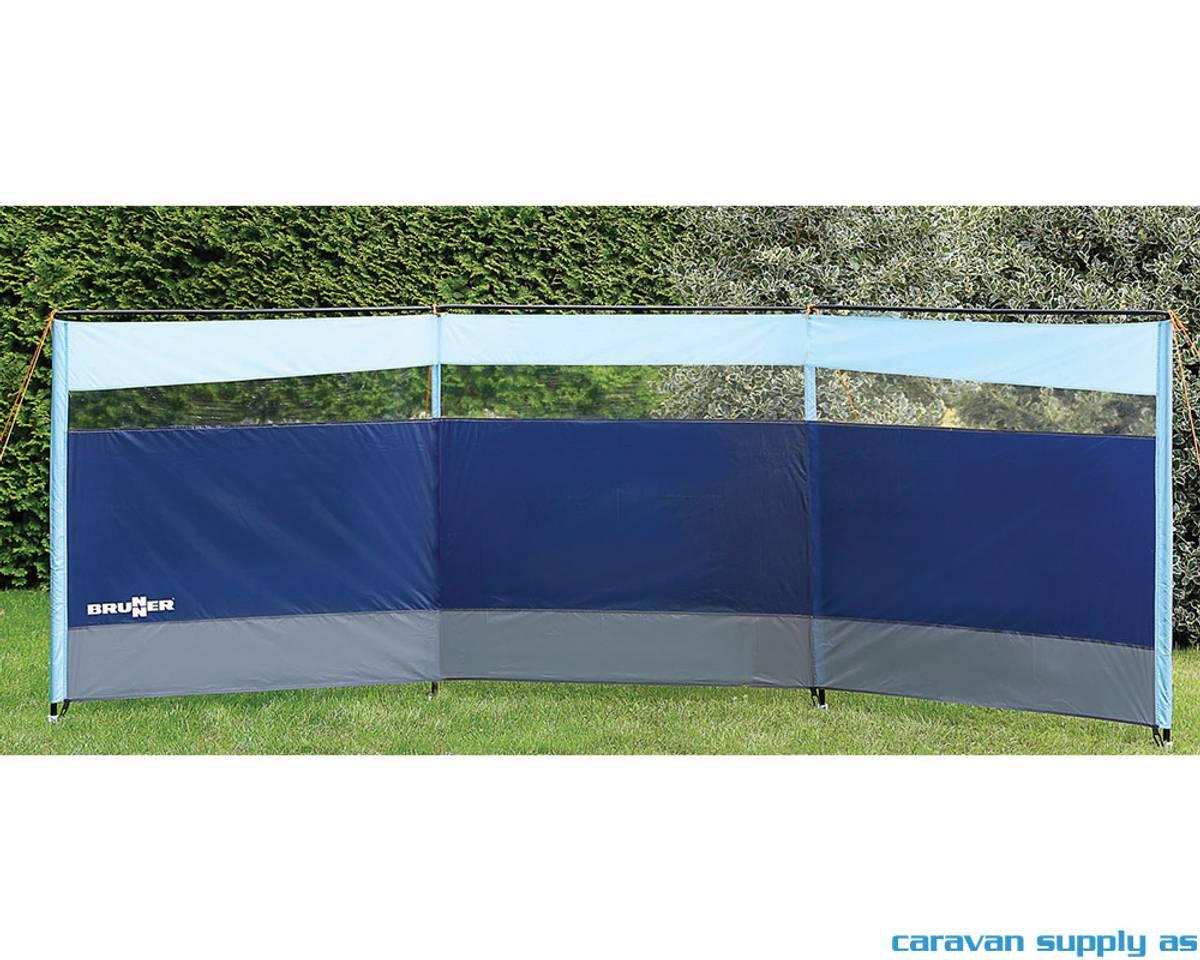 Levegg Brunner Barrier 600x140cm blå