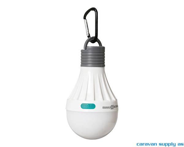 Bilde av Lampe Brunner Lumina LED m/karabinkrok