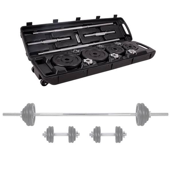 Bilde av Vektstang og manualer med koffert 5-50 kg