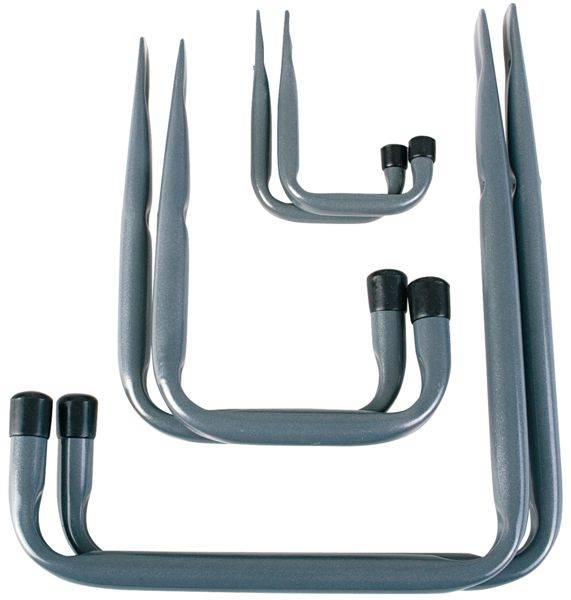 Bilde av Fixxer Opphengskroker sett a6 stål/grå