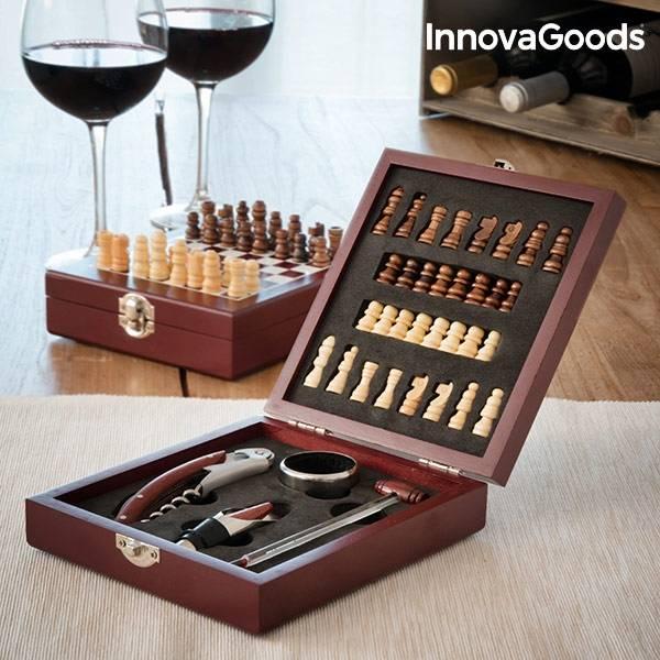 Bilde av InnovaGoods Vin og Sjakksett (37 Brikker)