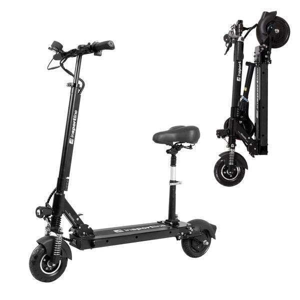 Bilde av E-scooter inSPORTline Skootie Pro 8 m/ sete sort
