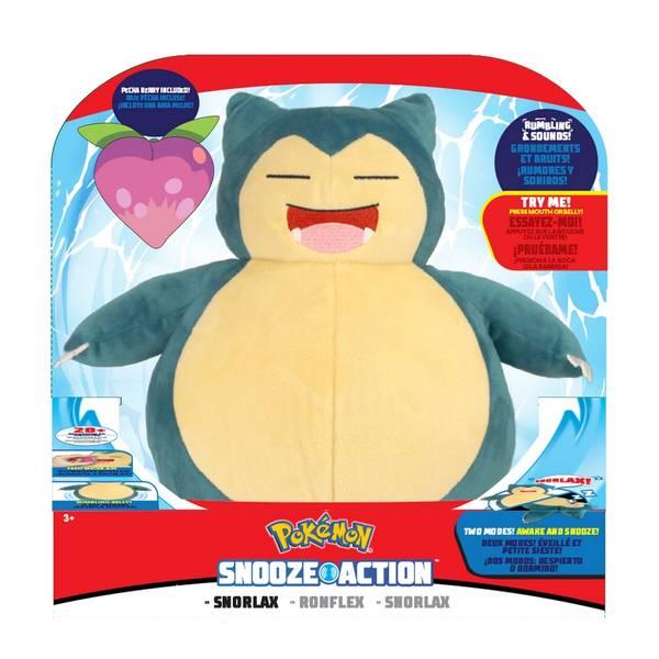 Bilde av Pokémon Snooze Action Snorlax m/ lyd (25cm)