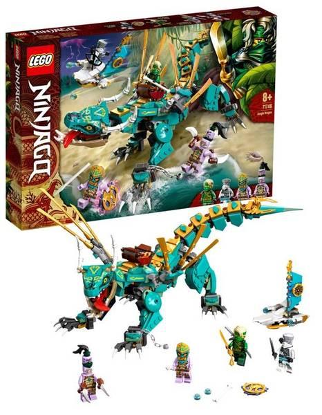 Bilde av LEGO Ninjago 71746 Jungeldrage