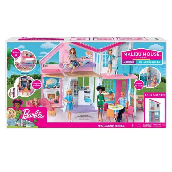 Bilde av Barbie Malibu house - dukkehus i 2 etasjer
