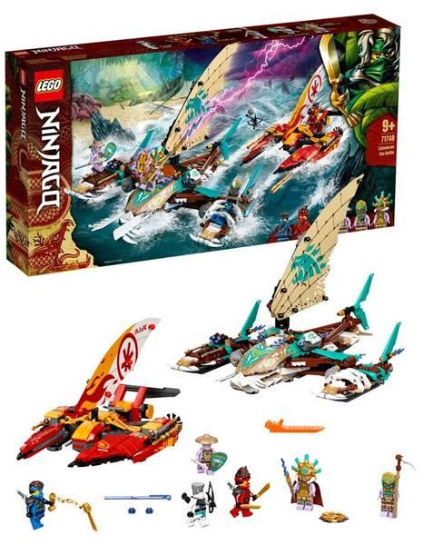 Bilde av LEGO Ninjago 71748 Sjøslag med katamaran