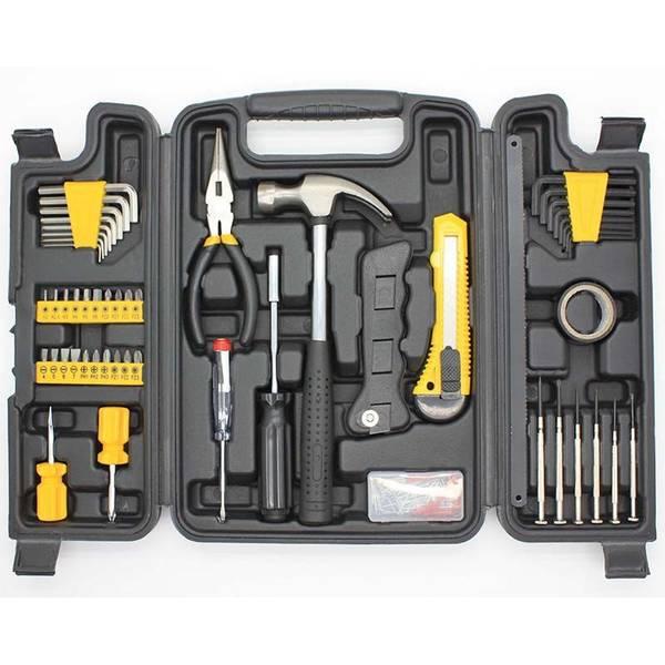 Bilde av Praktisk verktøykasse 142 deler