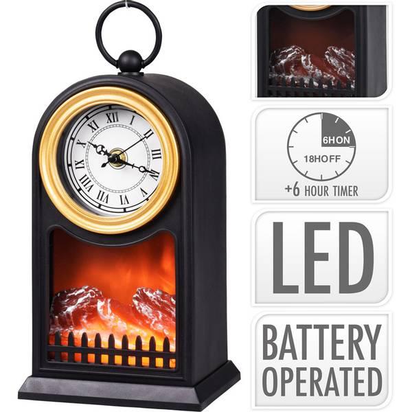 Bilde av Atmosfærisk lanterne LED - med klokke