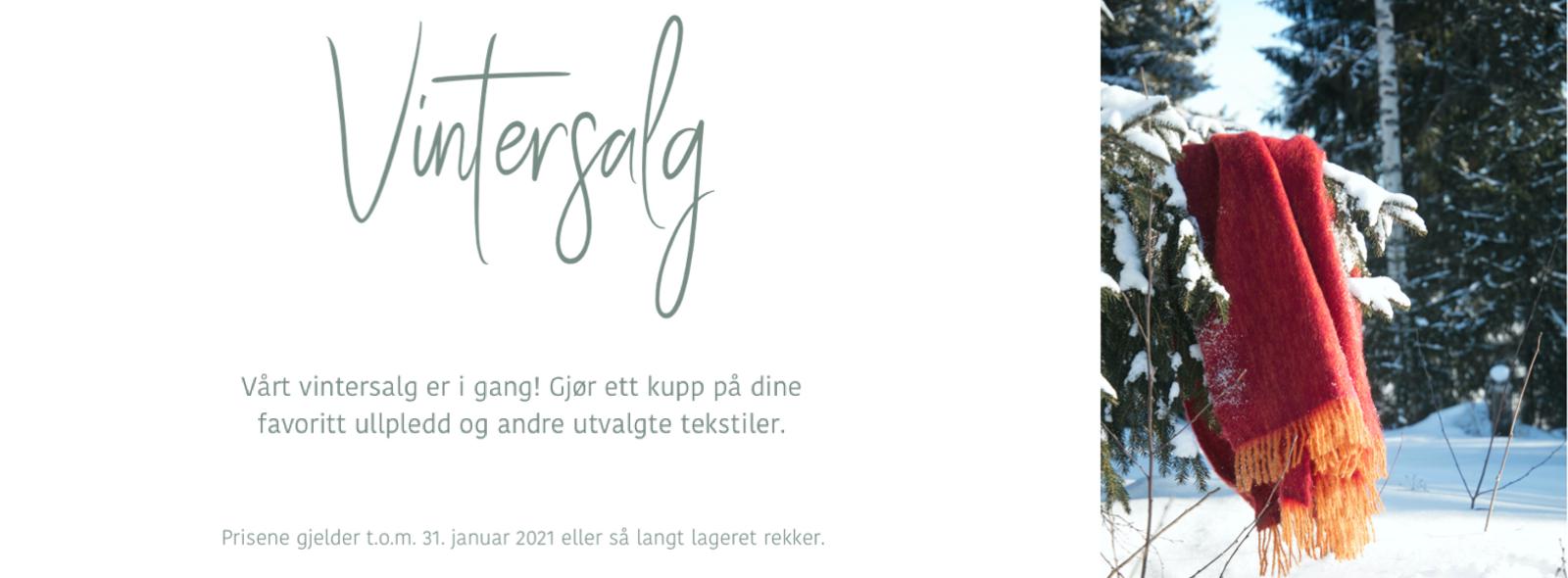 Gjør ett kupp på dine favoritt ullpledd og andre utvalgte tekstiler fra det finske merket Lapuan Kankurit.