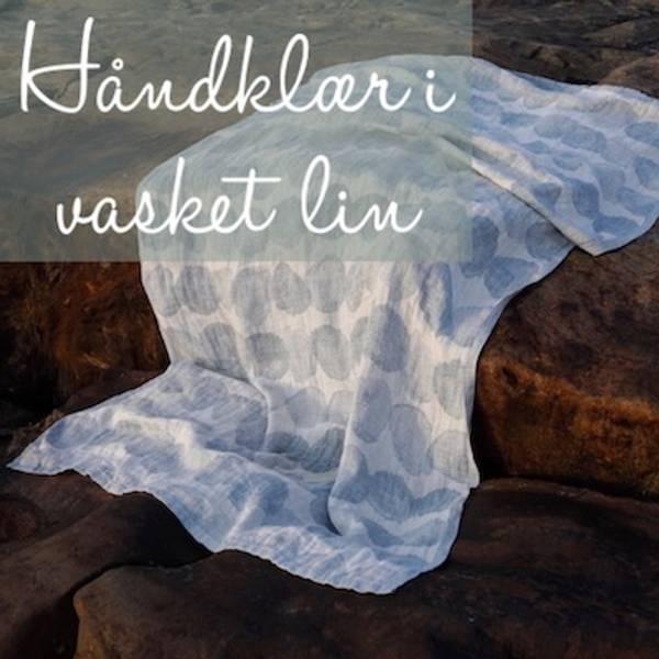 Badehåndklær, strandhåndklær og håndhåndklær i 100% vasket lin samt reisehåndklær fra det finske merket Lapuan Kankurit.