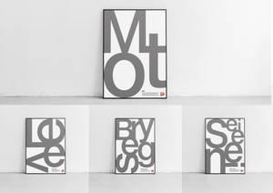 Bilde av Verdiplakater grå (nynorsk)