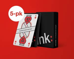 Bilde av Ink: Kortstokk 5-pk