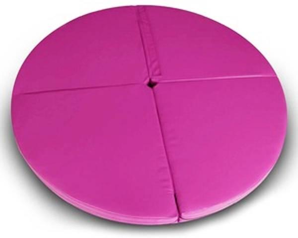 Bilde av Matte til Pole dance stang rosa - 120x120x5 cm