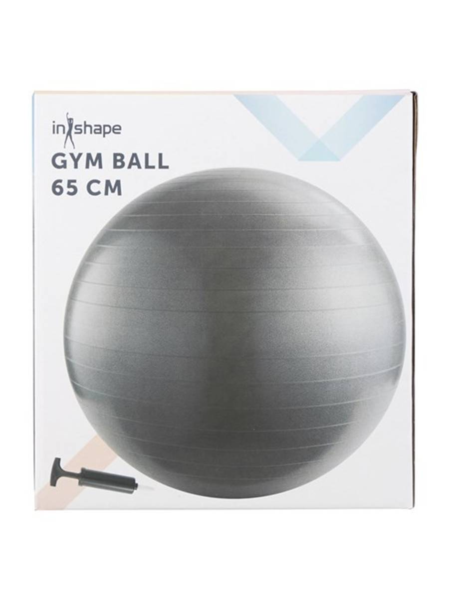 INSHAPE FITNESS BALL + PUMPE 65CM