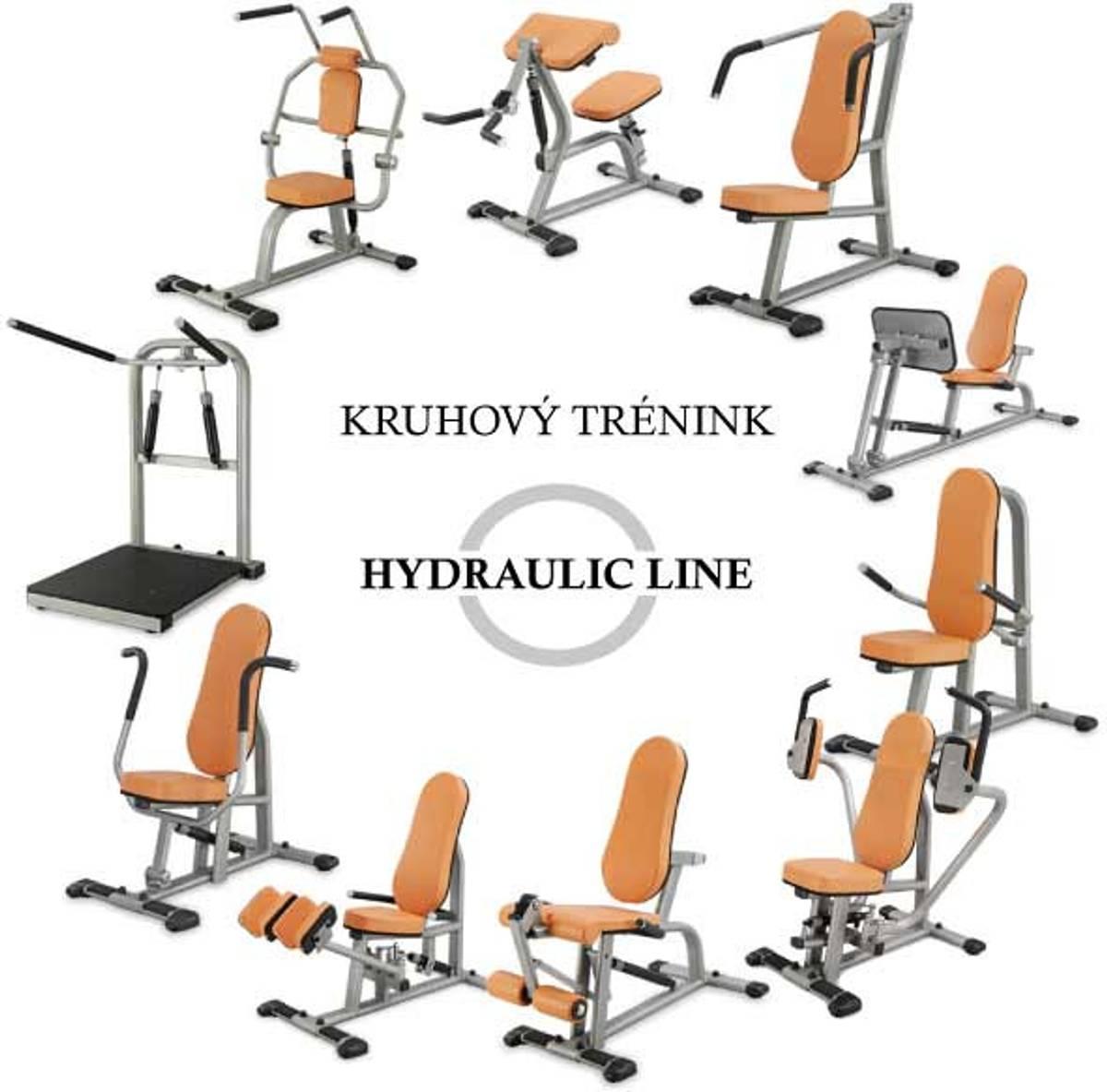 Biceps Curl med  hydrauliske dempere CBC400