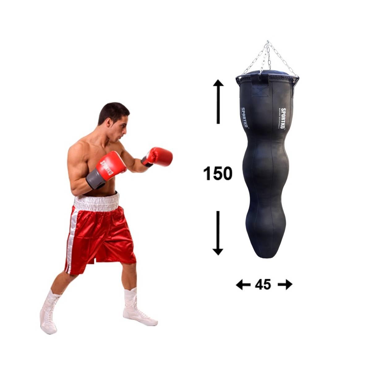 MMA boksesekk SportKO Silhouette MSP 45x150cm