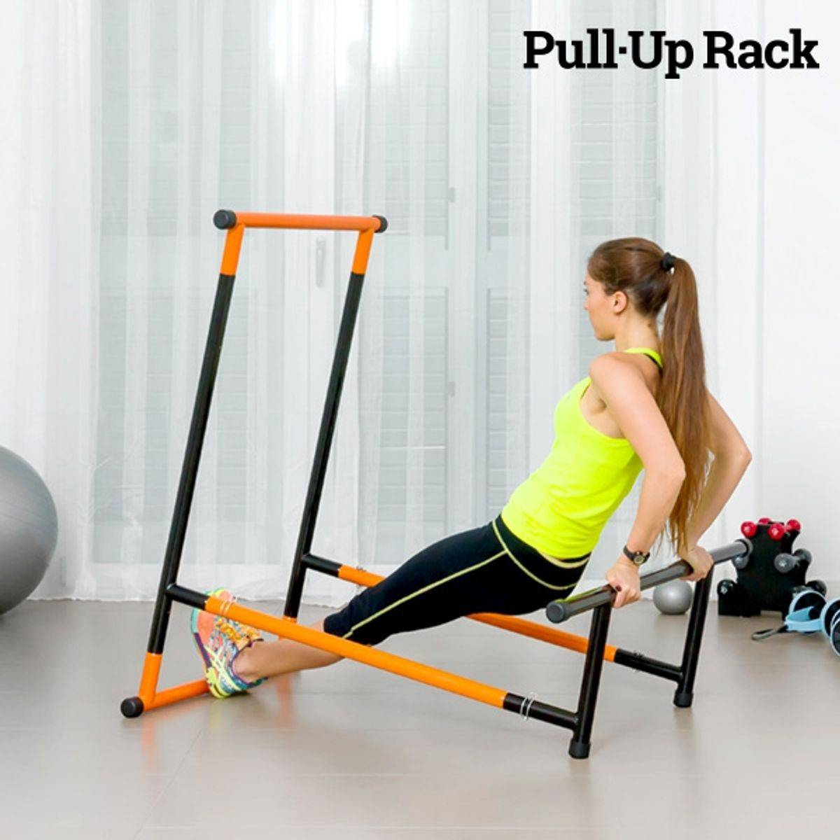 Pull-Up Rack treningsapparat og fitnesstasjon