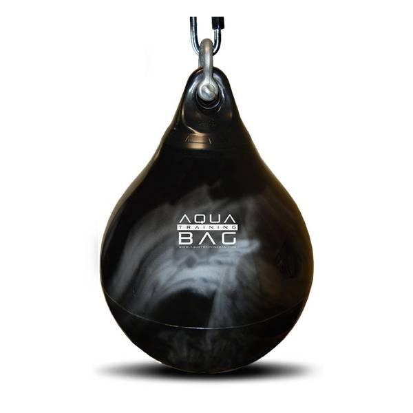 Bilde av Vannfylt boksesekk Aqua Bag 85 kg - Sort/ sølv