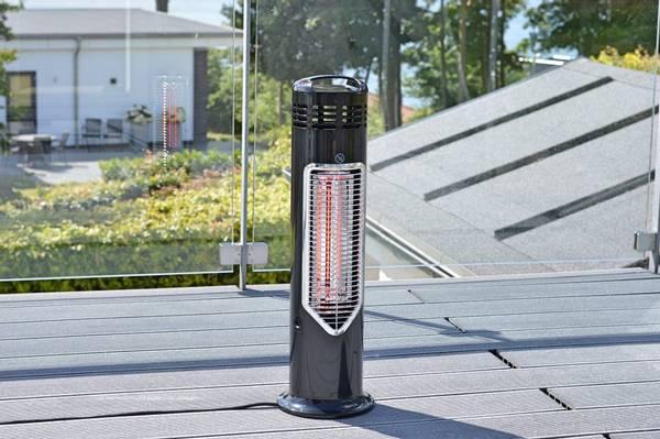 Bilde av Imus terrassevarmer 550W - Sort