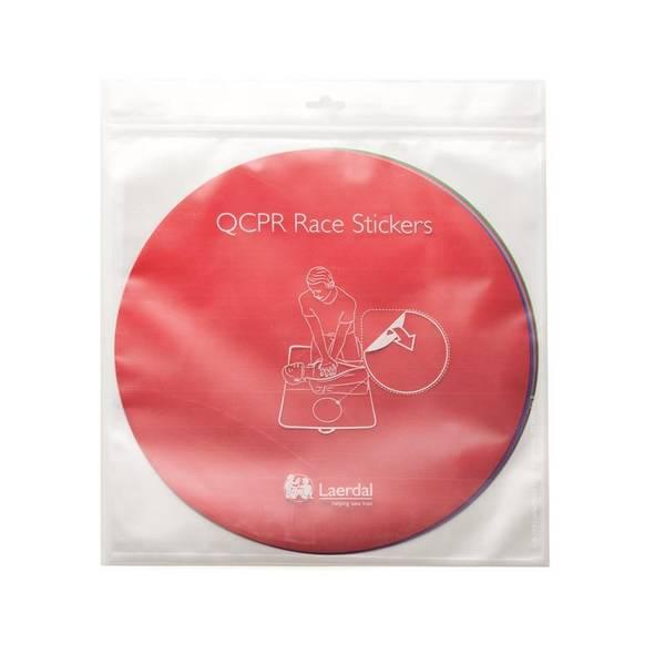 Bilde av QCPR Race Stickers 6 stk i pk