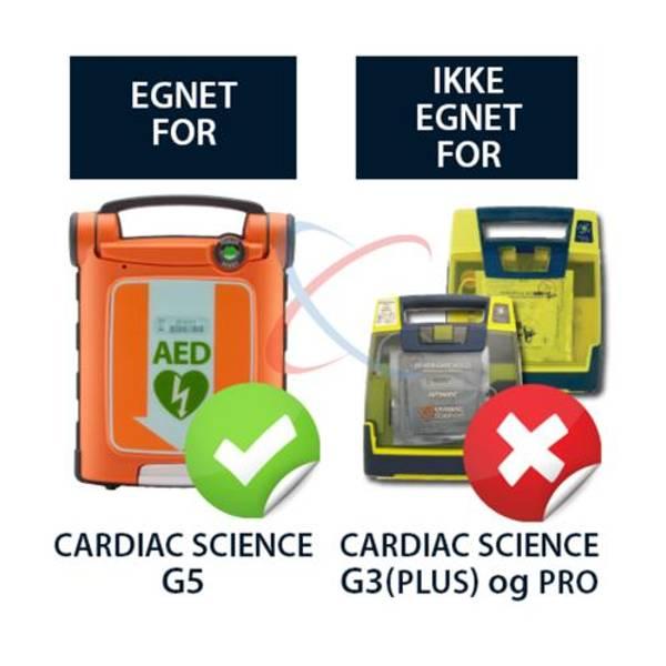 Bilde av Cardiac Science Powerheart G5 batteri