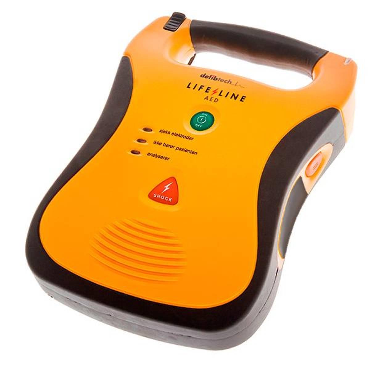 Defibtech Lifeline Hjertestarter AED uten batteri - Velg batteri