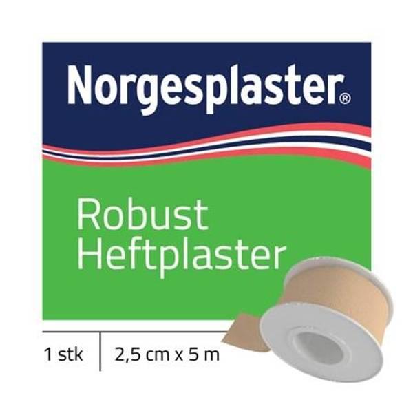 Bilde av Robust Heftplaster tekstil 4151 2,5cmx5m