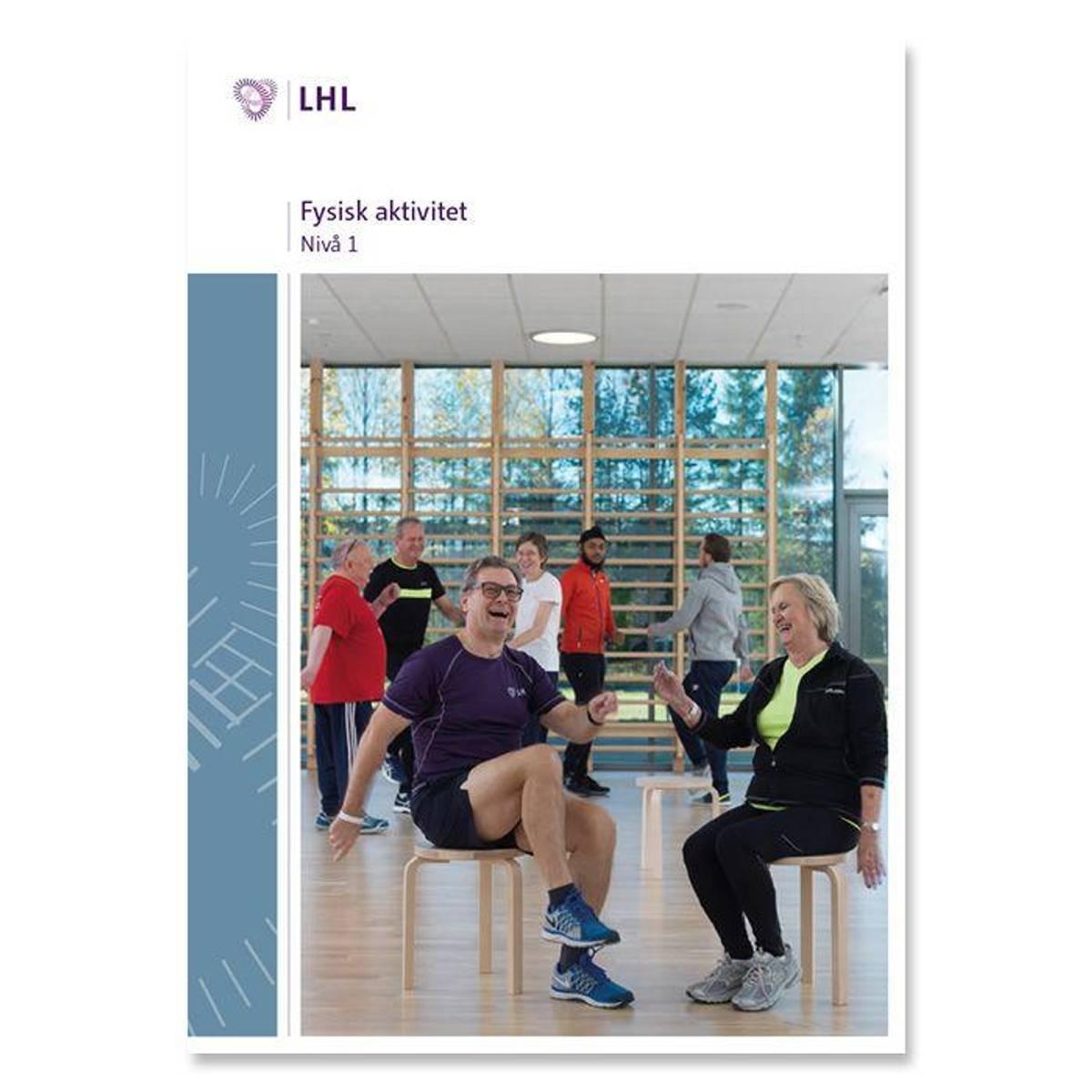 Fysisk aktivitet nivå 1 NY VERSJON 2019 m/2 stk CD