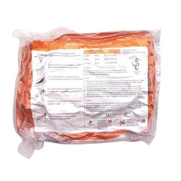 Bilde av Blizzard Thermopose m/4 varmepakker orange