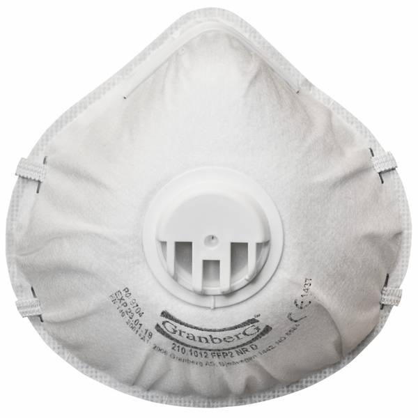 Bilde av Støvmaske med ventil FFP2 10pk, Granberg