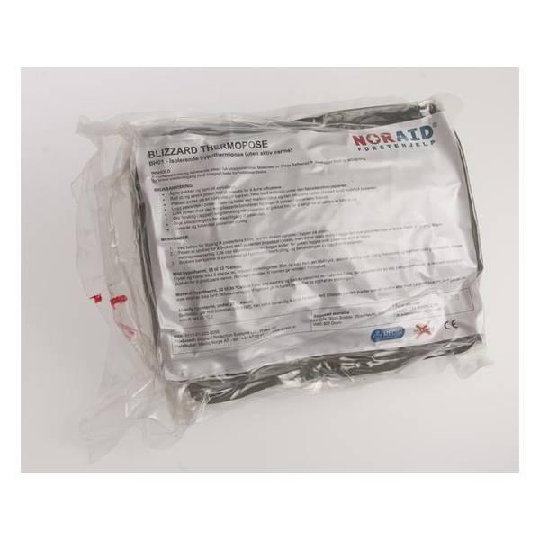Bilde av Blizzard Thermoteppe m/4 varmepakker grønn