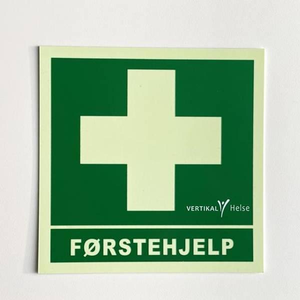 Bilde av Skilt Førstehjelp VH