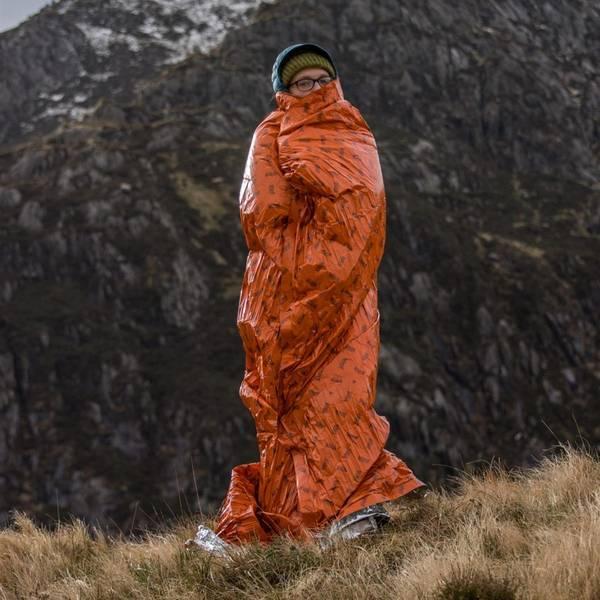 Bilde av Blizzard Thermoteppe orange
