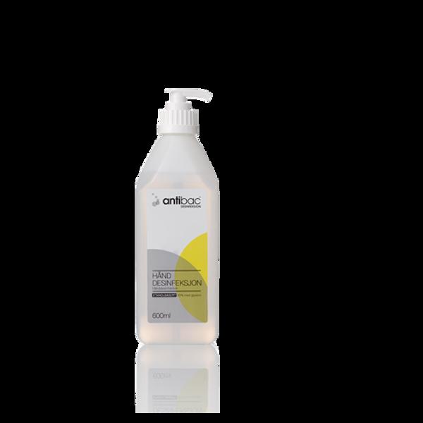 Bilde av Hånddesinfeksjon Antibac 600ml 85% m/pumpe