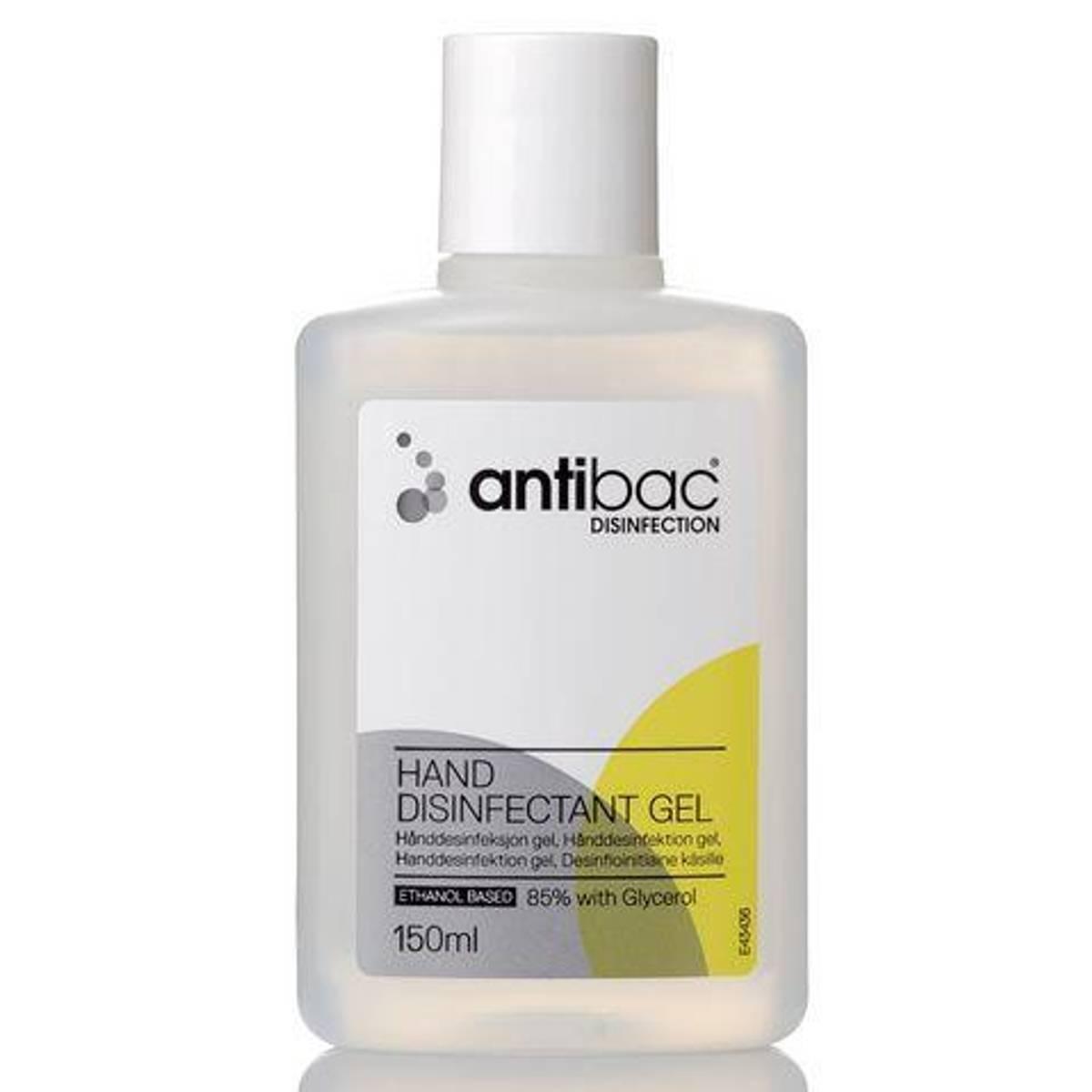 Hånddesinfeksjon Antibac 150ML 85% Gel