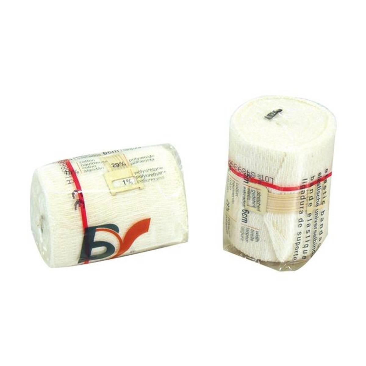 Universalbind elastisk BV 10cmx5m hvit