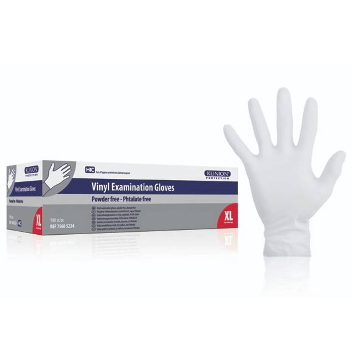 Vinylhanske Klinion Ftalatfri u/pudder XL