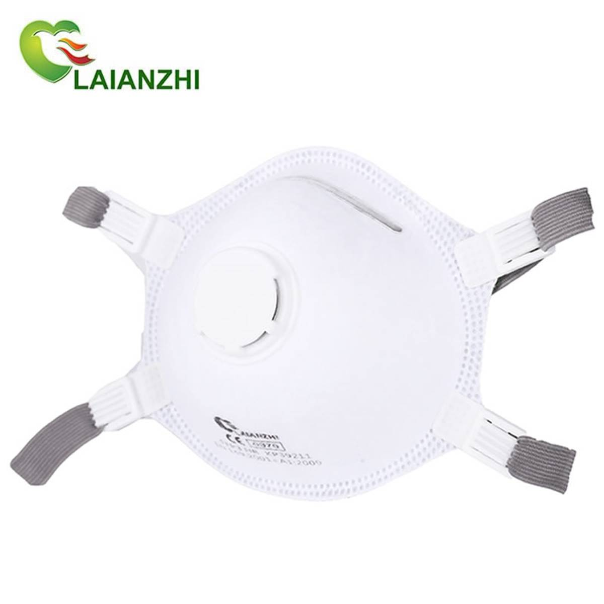 Filterende Halvmaske med ventil FFP3 NR 10pk