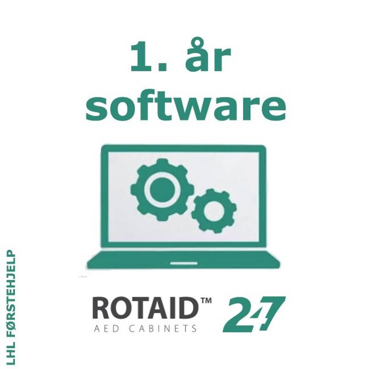 1 år softwarelisens 247 (kr. 96 + mva. pr. mnd.)