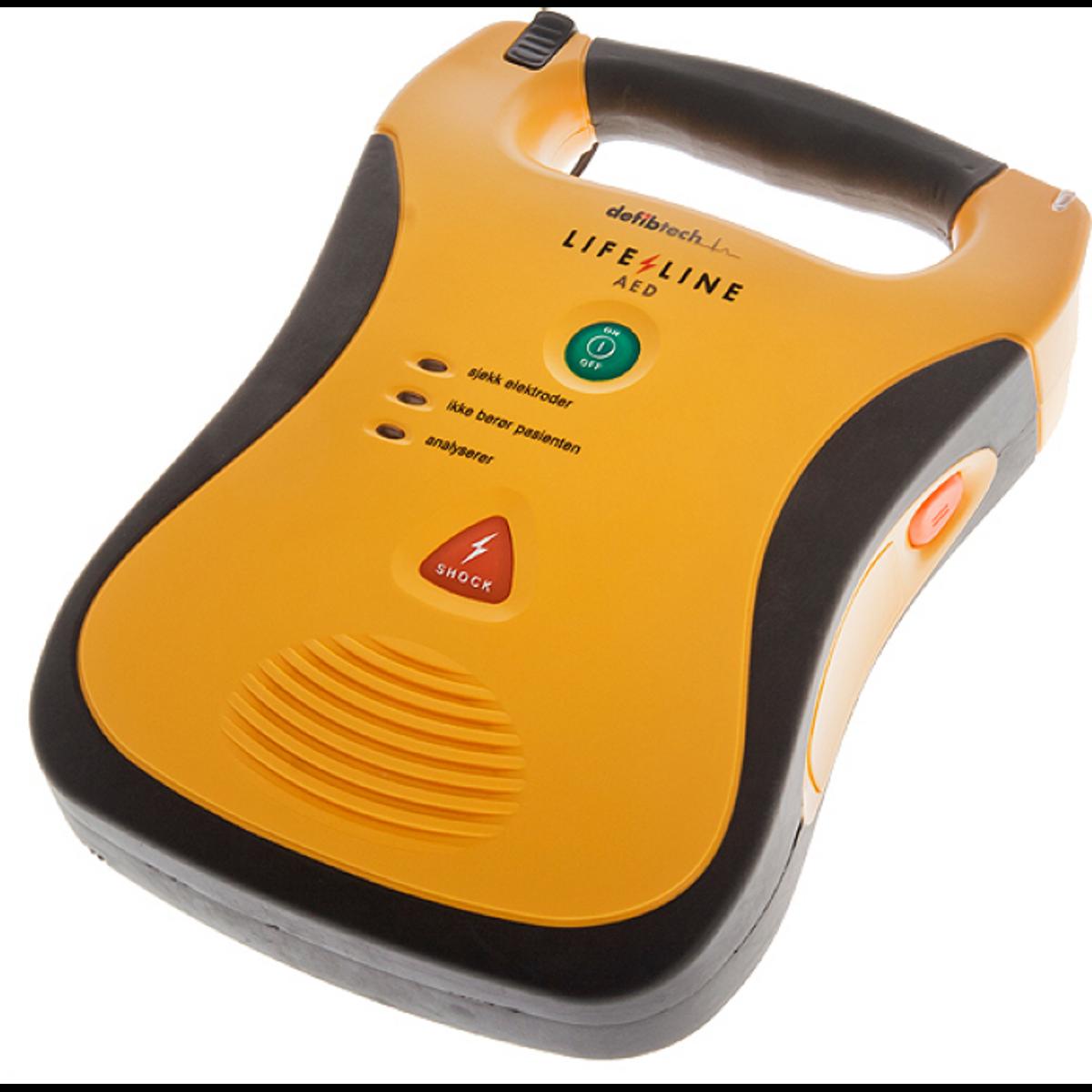 Lifeline AED - Norsk NRR - med 7 års batteri