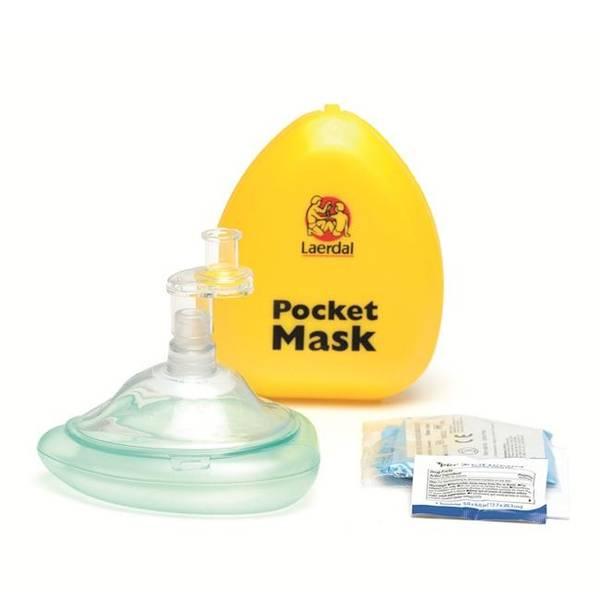Bilde av Laerdal pocketmask m/enveisventil og filter