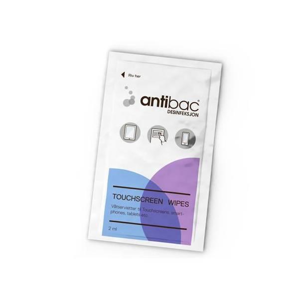 Bilde av Antibac touchscreen våtservietter, 95 stk