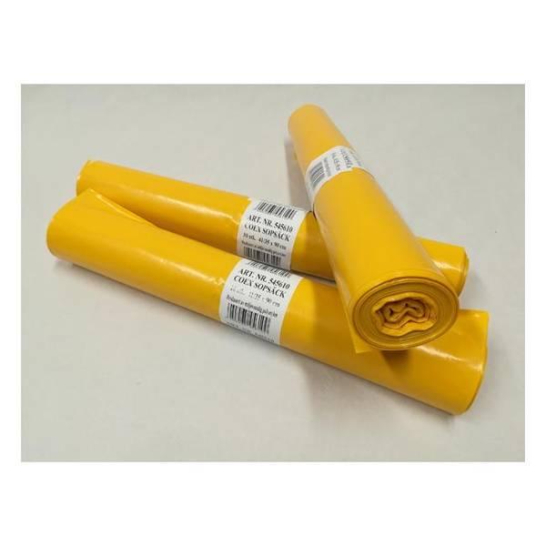 Bilde av Risikoavfallsekk 44l gul 10 sekker