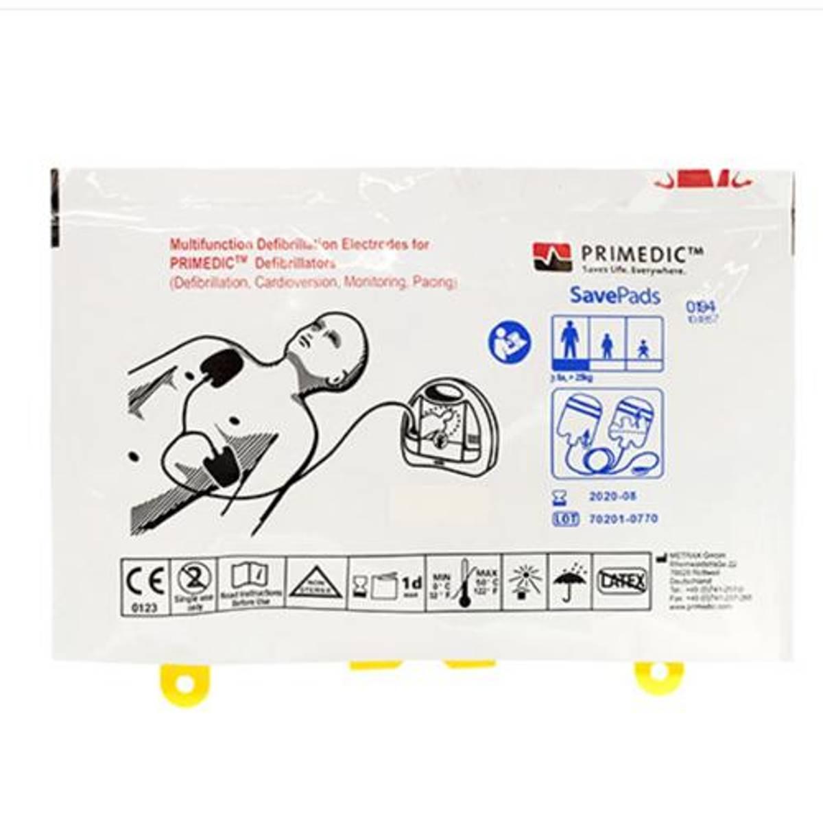 Primedic Metrax HeartSave elektroder