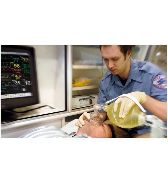 Bilde av Mask #4 BAG II Disposable Resuscitator