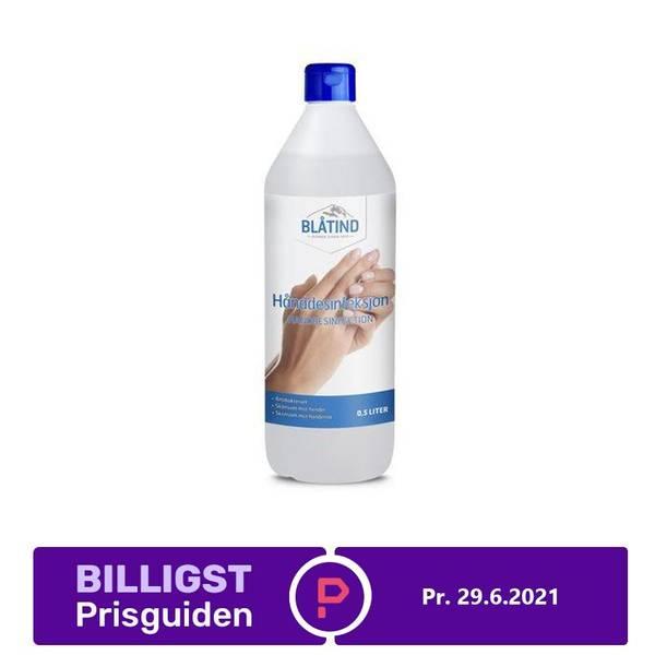 Bilde av Blåtind Hånddesinfeksjon, 0,5L, 85%