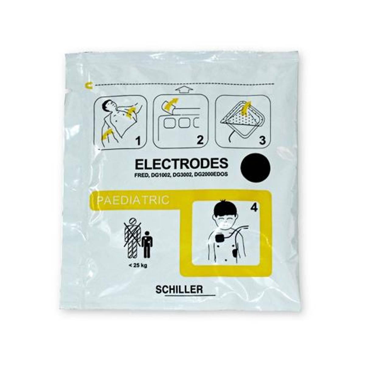 Schiller FRED Easyport DefiSign elektroder barn spedbarn