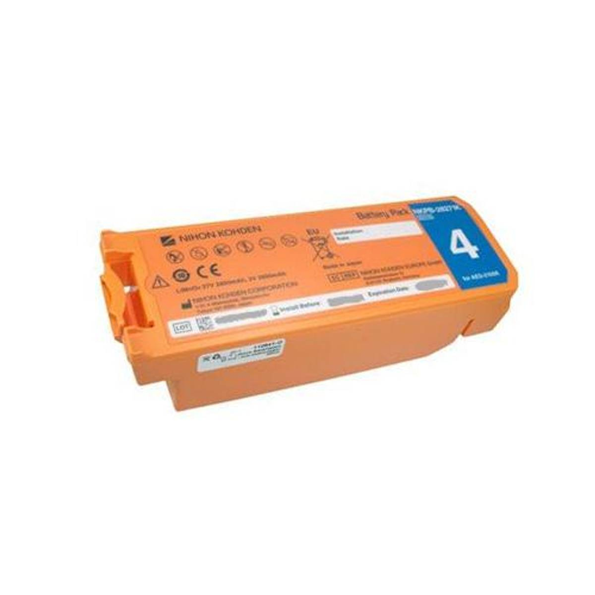 Nihon Kohden Cardiolife AED batteri 2100 serien